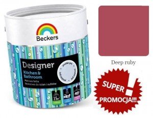Beckers Designer Kitchen & Bathroom 2,5l  DEEP RUBY