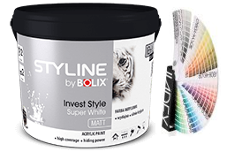 STYLINE BOLIX INVEST STYLE SUPER WHITE 3L KOLORY