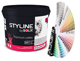 STYLINE BOLIX PREMIUM LATEX MATT 2  9L  KOLOR